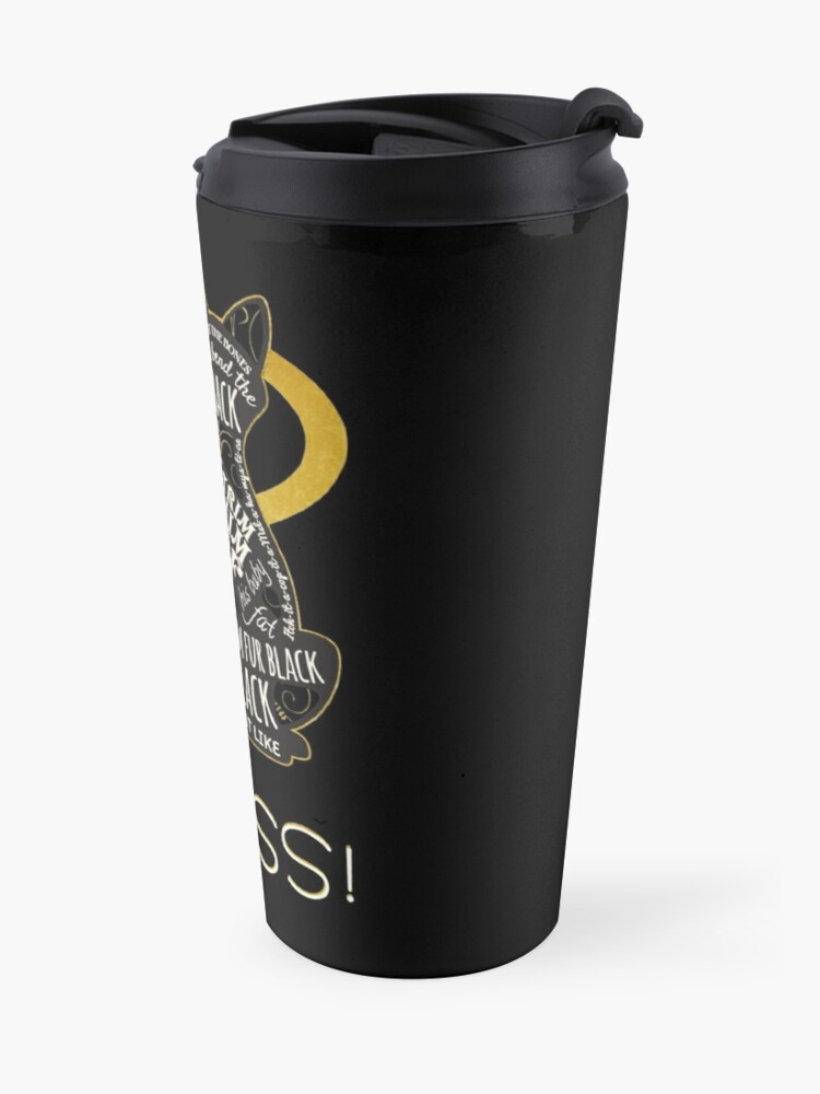 Alternate view of Hocus Pocus Cat Spell - Just. Like. This! Travel Mug