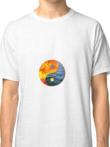 Fire Water Ying Yang Classic T-Shirt