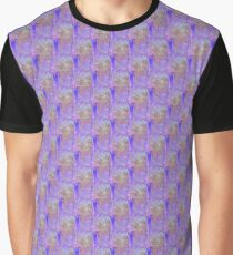 Rainbow Psychedelic Nature Seamless Pattern Graphic T-Shirt
