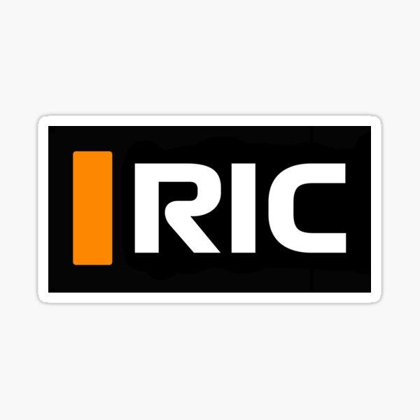 Gráfico de TV Daniel Ricciardo RIC - F1 2021 Pegatina
