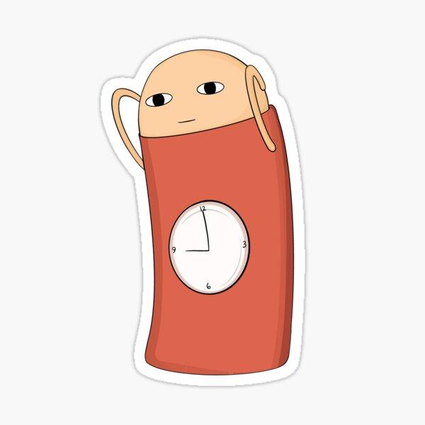 Gintama - Justaway Alarm Clock  Sticker
