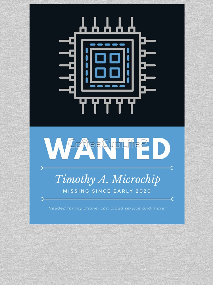 Microchip Wanted! by CoffeeCupLife2