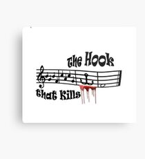 The Hook Metal Print
