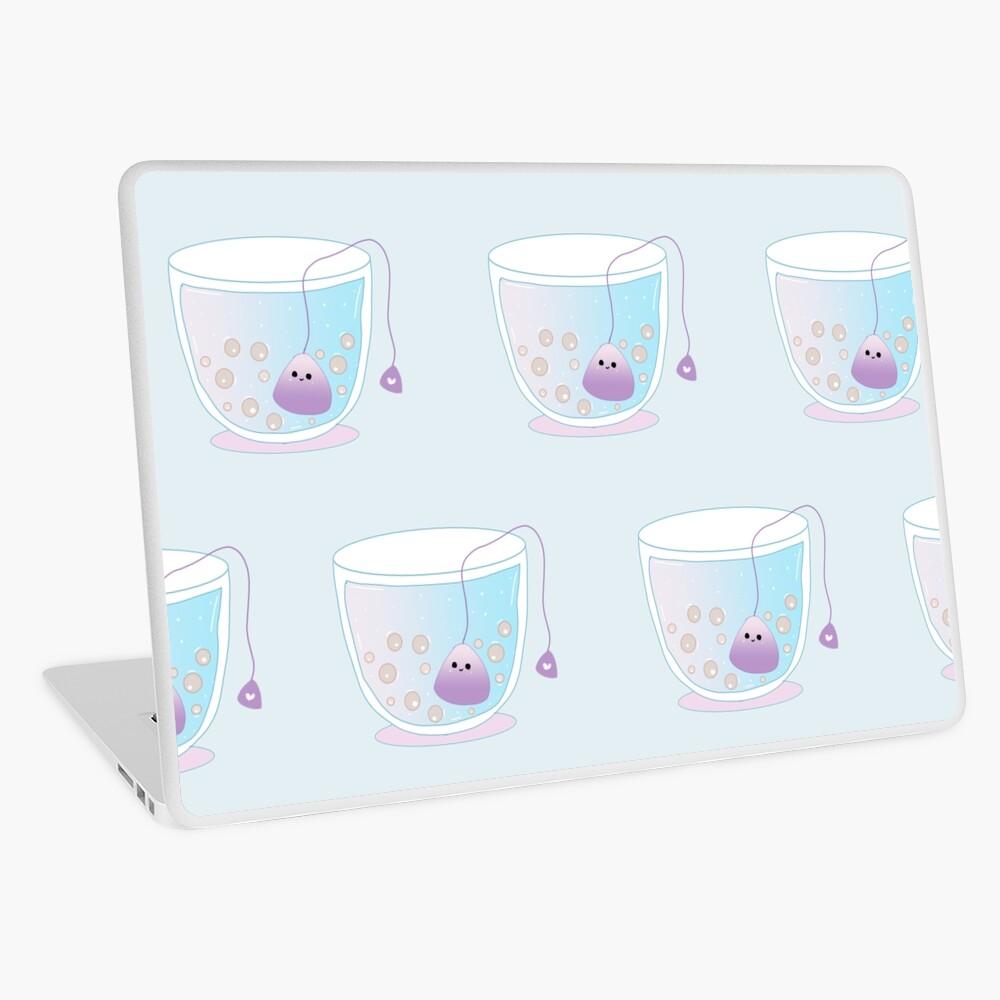 Kawaii Teacup  Laptop Skin