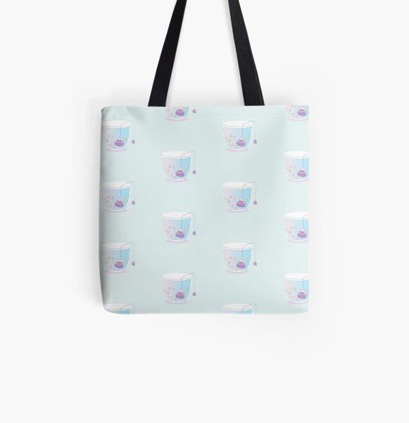 Kawaii Teacup  All Over Print Tote Bag