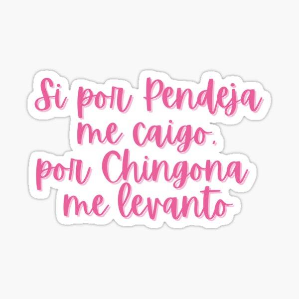 Por Chingona Sticker