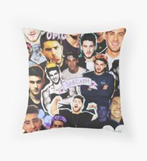 Cody Christian Collage Throw Pillow