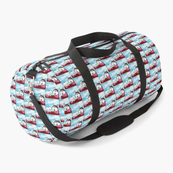 Dogs Are Love Duffle Bag