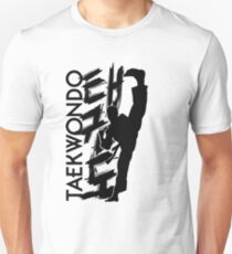 Taekwondo Kick Boy - Korean Martial Art T-Shirt
