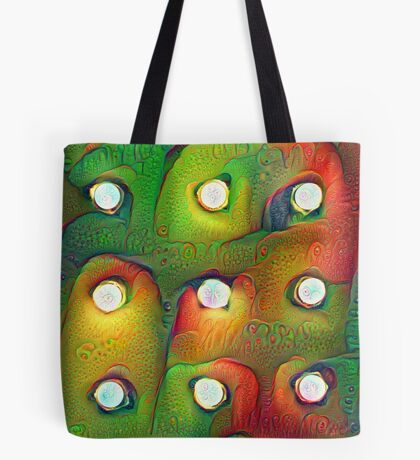#DeepDream Lights 5x5K v1450982016 Tote Bag
