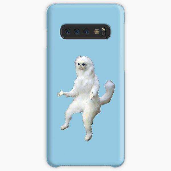 persian cat room guardian  Samsung Galaxy Snap Case
