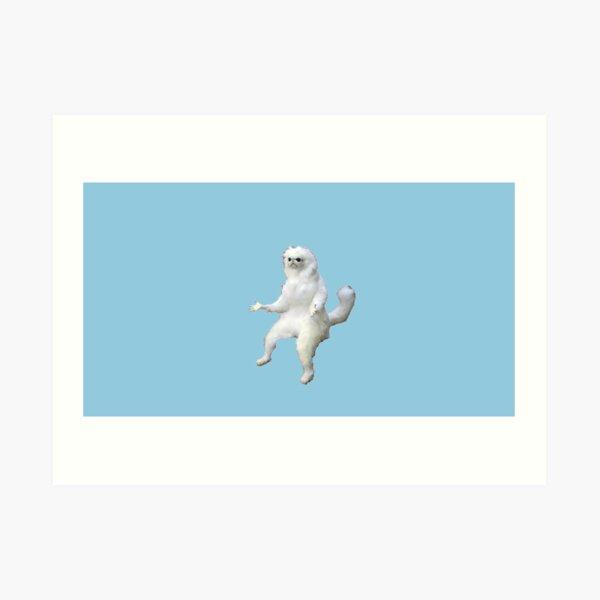 persian cat room guardian  Art Print