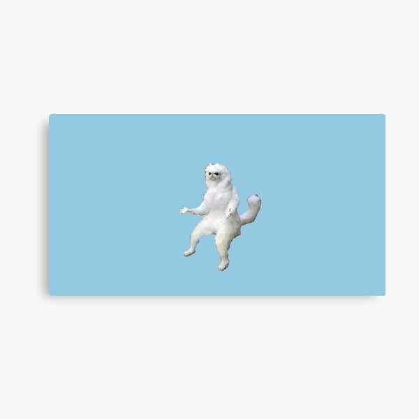 persian cat room guardian  Canvas Print