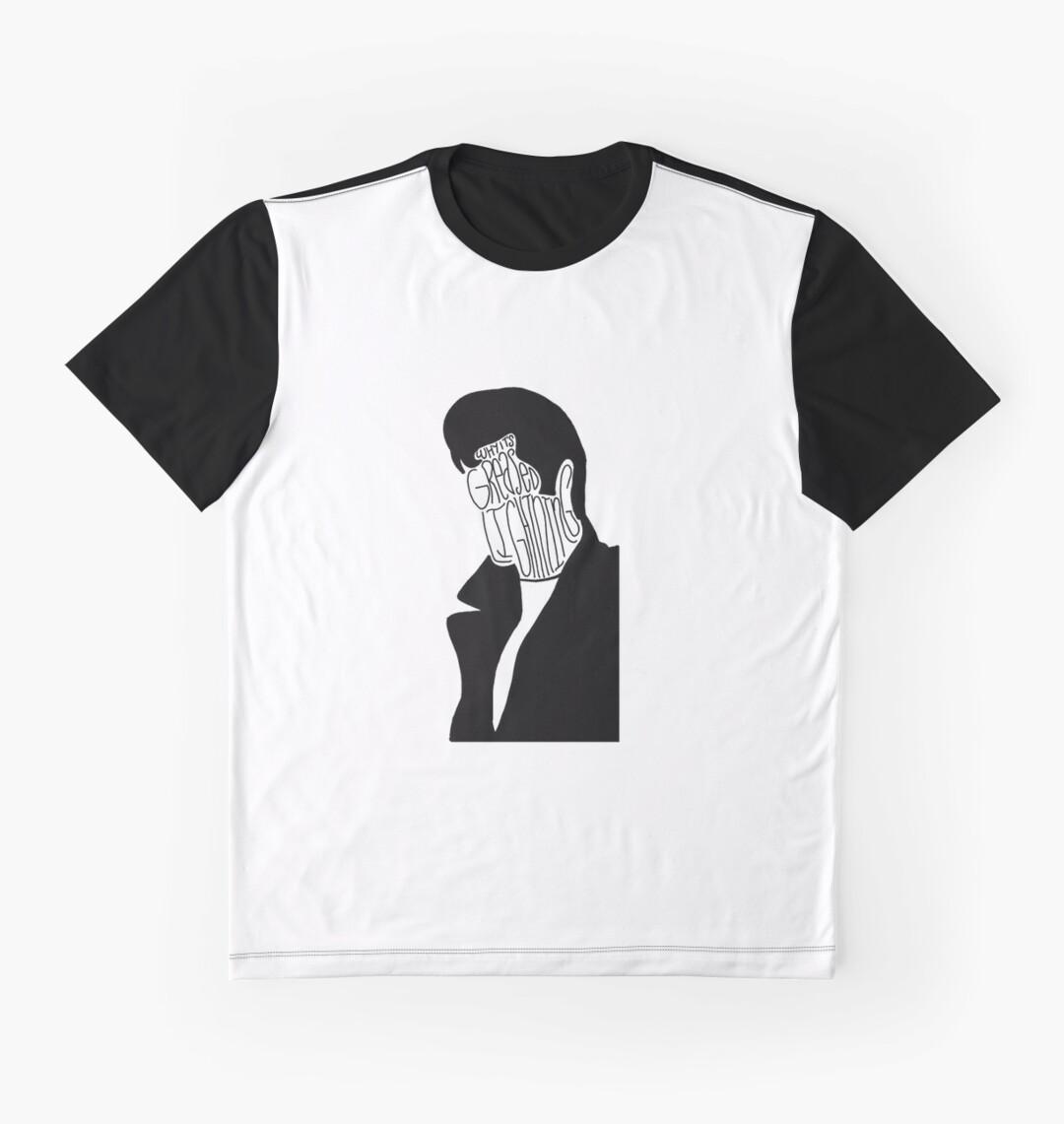 Danny zuko black t shirt - Danny Zuko Greased Lightning Graphic T Shirts