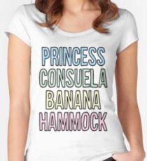 Princess Consuela Banana Hammock Women's Fitted Scoop T-Shirt