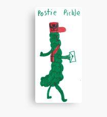 Postie Pickle Metal Print