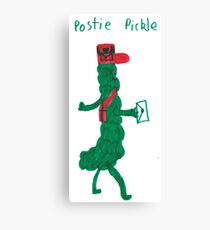 Postie Pickle Canvas Print