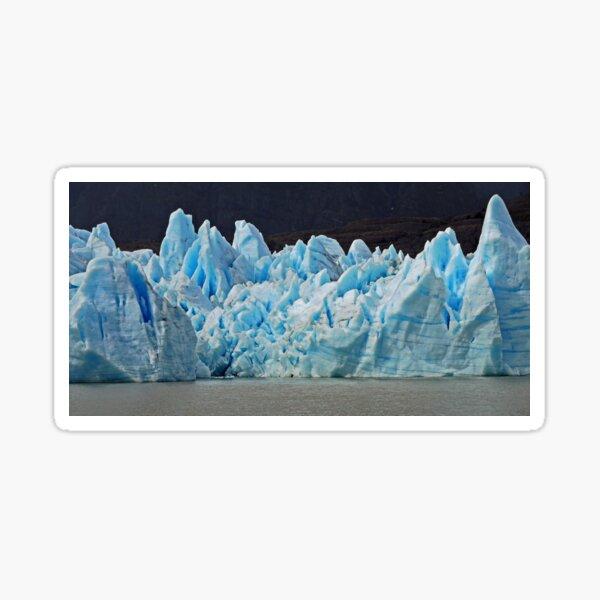 The Blue of Grey Glacier  Sticker