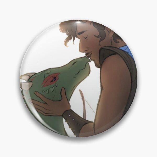Lizard smooch (Second Citadel fan art) Pin