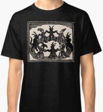 Camiseta clásica Brujas danza en círculo