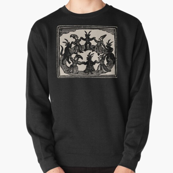 Witches Circle Dance Pullover Sweatshirt