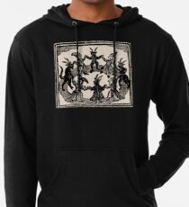 Witches Circle Dance Leichter Hoodie
