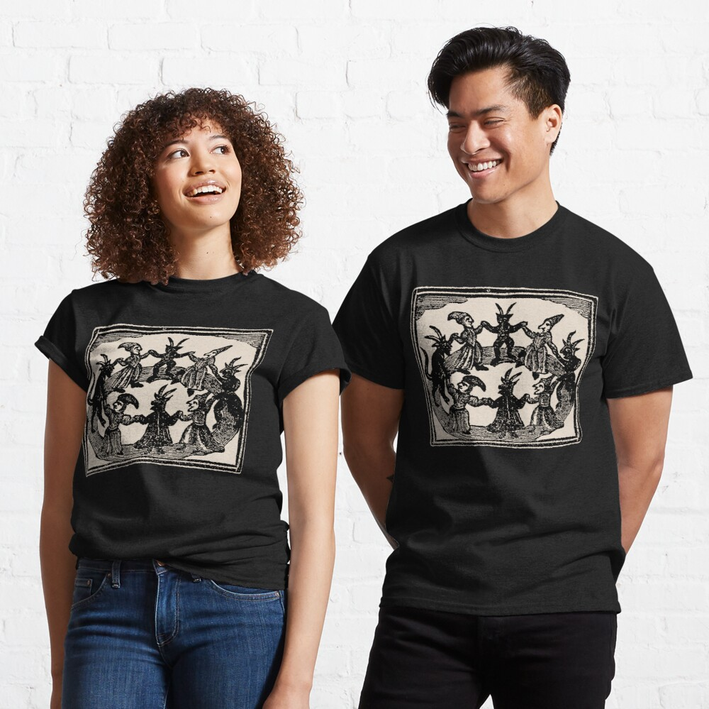 Witches Circle Dance Classic T-Shirt