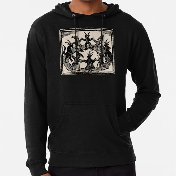 Witches Circle Dance Lightweight Hoodie
