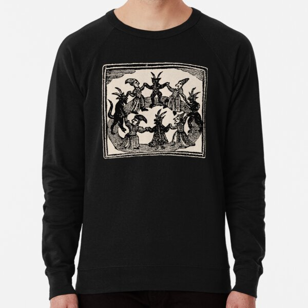 Witches Circle Dance Lightweight Sweatshirt