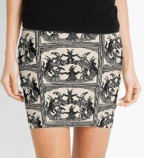 Witches Circle Dance Mini Skirt