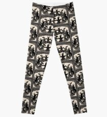 Witches Circle Dance Leggings