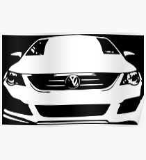 VW - CC (white) Poster