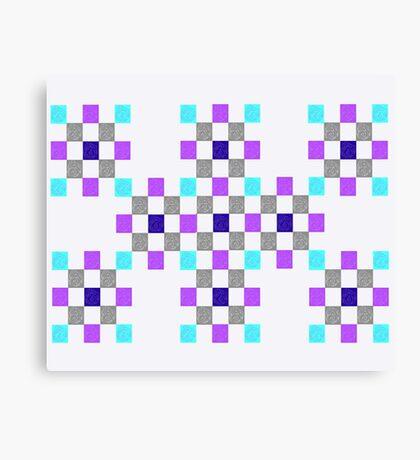 Quilted Eye Canvas Print