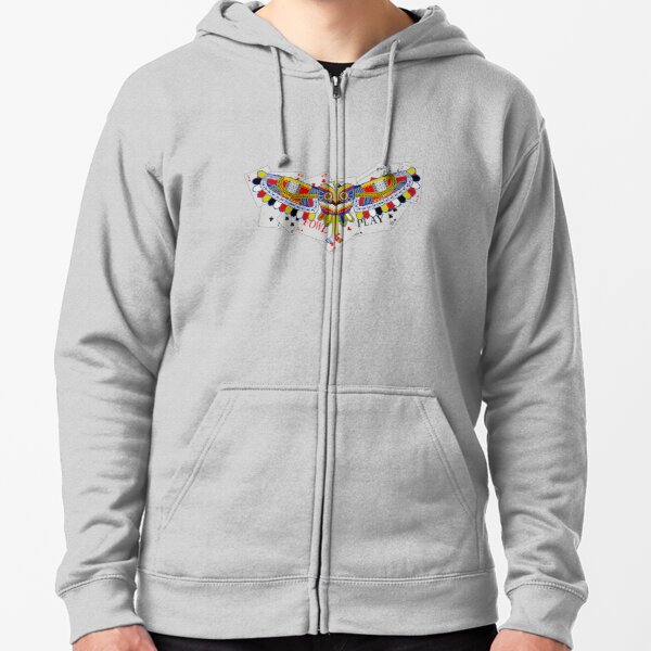 Fowl Play alternative Zipped Hoodie
