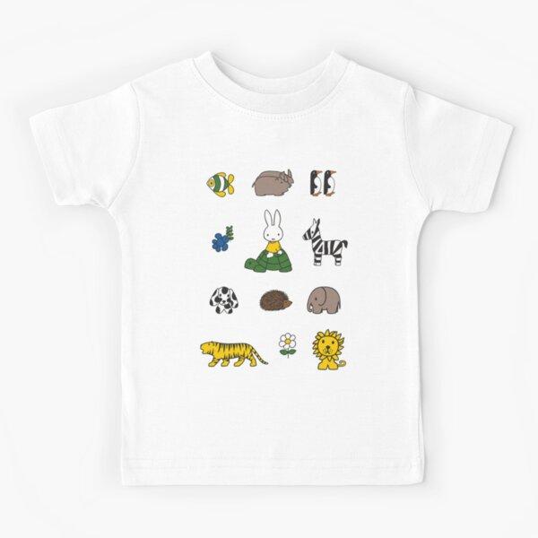 Miffy Nijntje at the zoo Kids T-Shirt