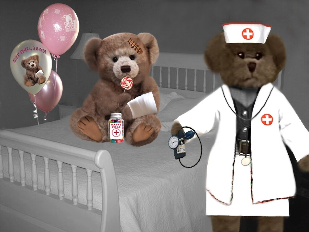 TEDDY IS ON THE ROAD TO RECOVERY NURSE SAYS HE WILL BE JUST FINE by ✿✿ Bonita ✿✿ ђєℓℓσ