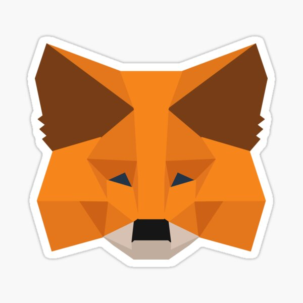 Crypto Fox Sticker