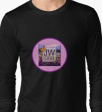 JW.ORG Logo With a Meadow Full of Flowers Long Sleeve T-Shirt