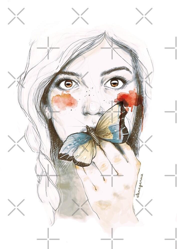 BUTTERFLIES STOMACH by Elena Garnu