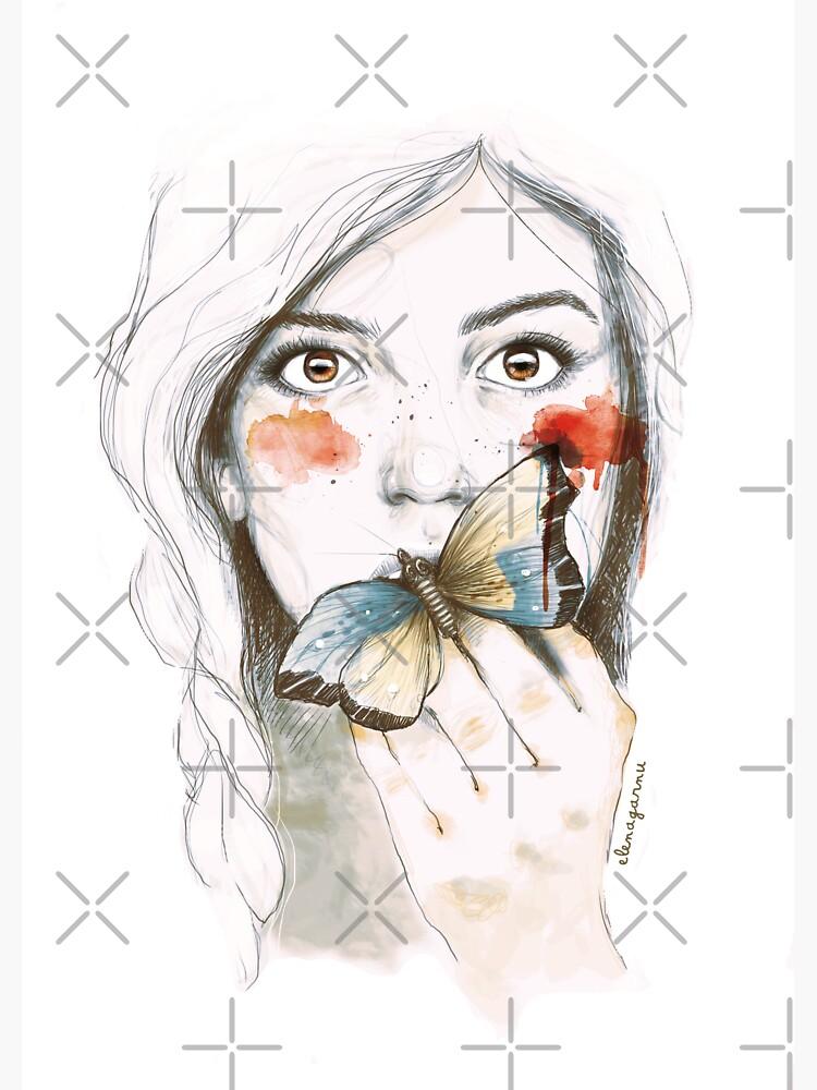 BUTTERFLIES STOMACH by ELENAGARNU