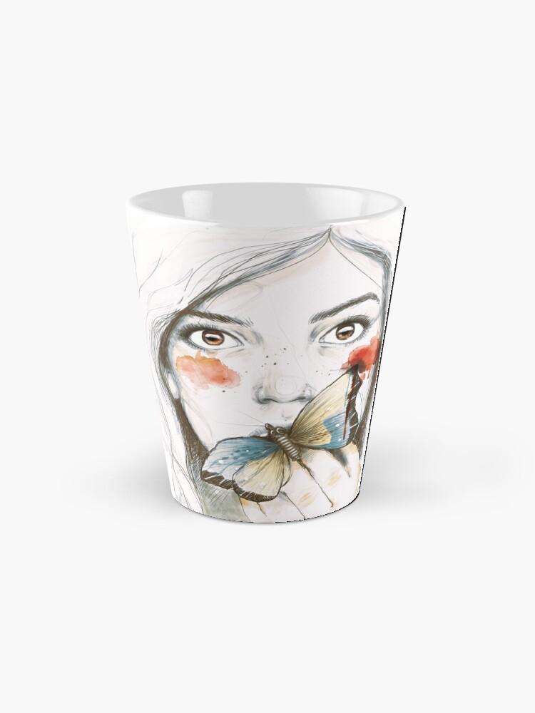 Alternate view of BUTTERFLIES STOMACH Mug