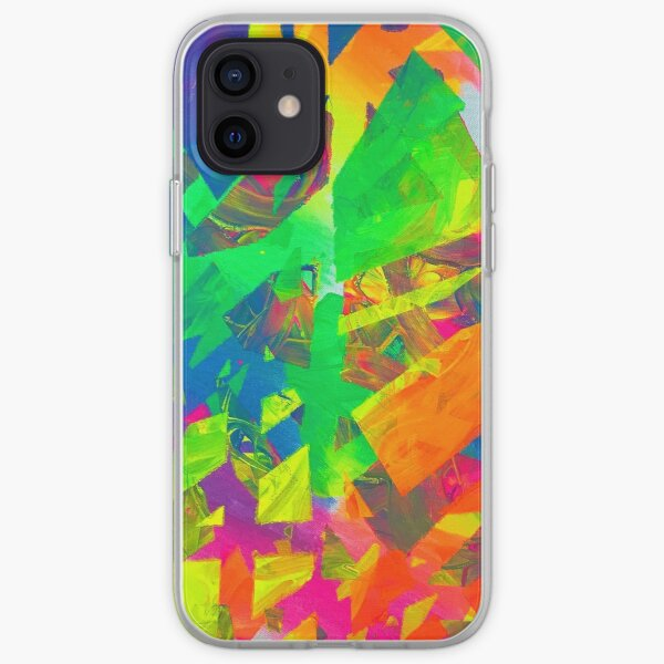 Neon Tape iPhone Soft Case