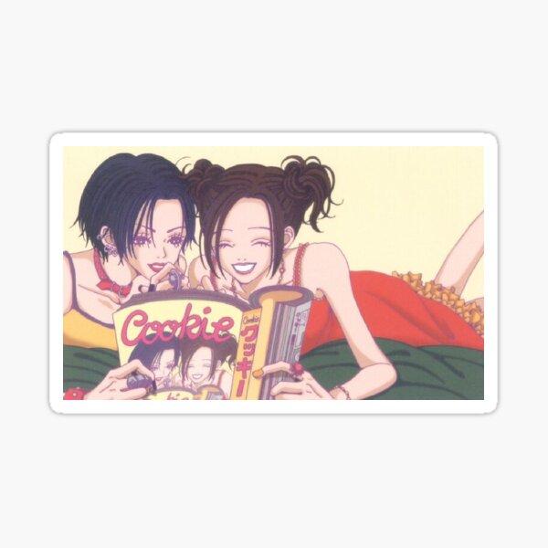 nana anime hachi et nana cookie magazine gokinjo monogatari ai yazawa fonctionne Sticker