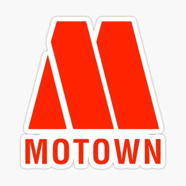 MOTOWN Records - Iconic Record Label Black Music  Sticker