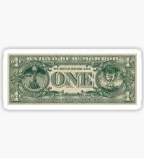 The One Bill. Sticker