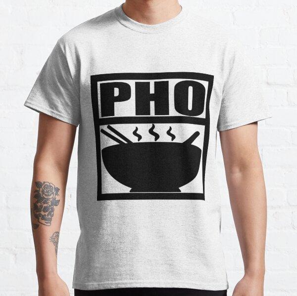 Pho Black print Classic T-Shirt