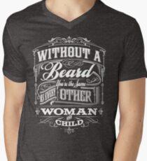 Beard Religion Mens V-Neck T-Shirt