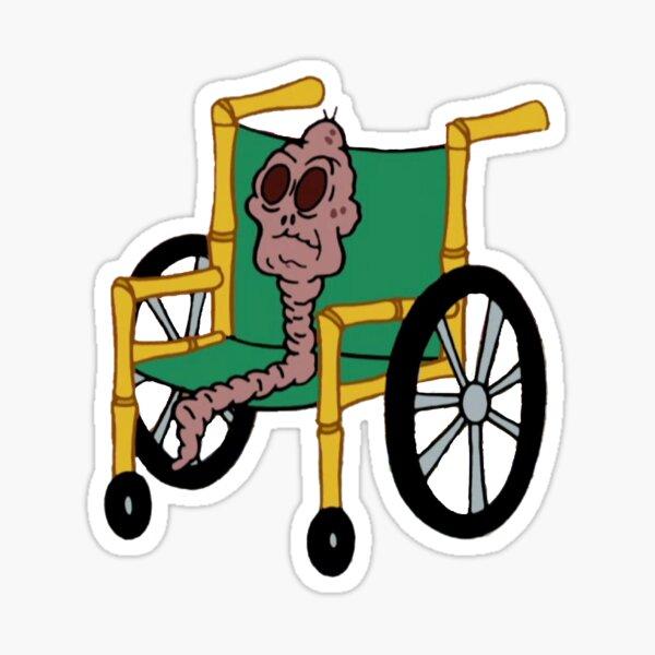 Schokolade alte Dame SpongeBob Sticker