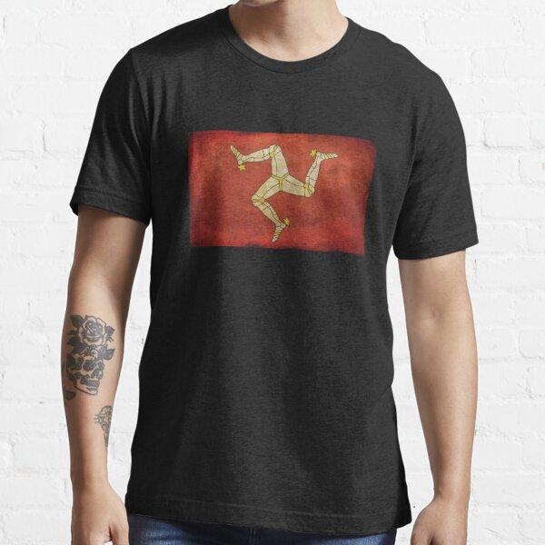 Isle of man flag Essential T-Shirt