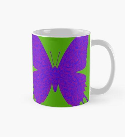#DeepDream Purple Violet Butterfly Mug